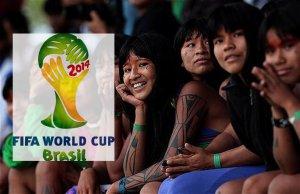 Две тысячи билетов на чемпионат мира по футболу передадут индейцам Бразилии