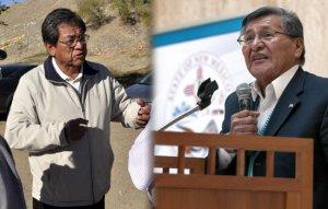 Бегайе (слева) vs Ширли (справа): навахо выбирают президента нации