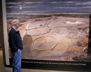 Реконструкция земляных сооружений возле Ньюарка, шт. Огайо
