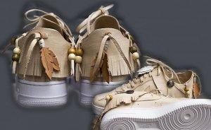 Индейские мокасины стали прообразом новых кроссовок Nike Air Force 1
