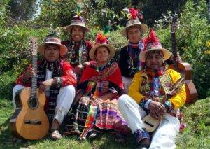 Боливийский музыкальный коллектив Norte Potosi