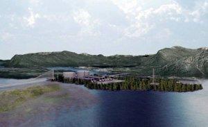 Проект строительства СПГ-завода на о. Лелу (Канада)