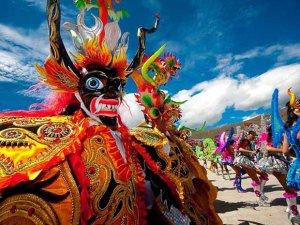 Жители Лимы и Трухильо смогут увидеть у себя фольклорный карнавал Кахамарки. Архивное фото