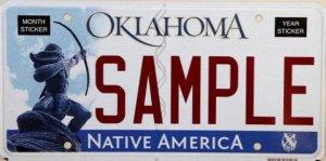 Номерные знаки с индейцем возмутили верующего жителя Оклахомы