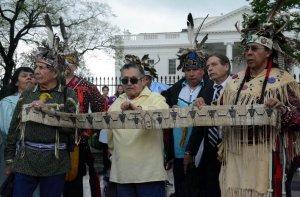 Индейцы онондага подали петицию на США в Межамериканскую комиссию по правам человека. Фото - www.onondaganation.org