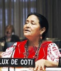 Отилия Луш де Коти, исполнительный директор Международного форума женщин коренных народов