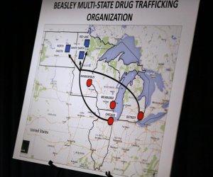 Схема поставки наркотиков в резервации. Фото: JERRY.HOLT@STARTRIBUNE.COM