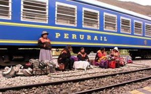 Перуанские индейцы парализовали железнодорожное движение между Куско и Мачу-Пикчу. Архивное фото