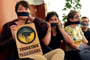 Рафаэль Корреа одобрил закрытие правозащитной и экологической организации Фонд Пачамама. Фото - фонд Пачамама / pachamama.org