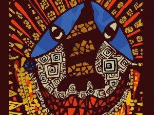 Выставка современных индейских художников «Сплетенные вместе» добралась до Оренбурга