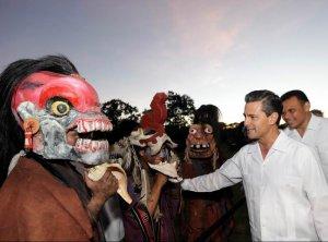 Президент Мексики принял участие в открытии Международного фестиваля культуры майя