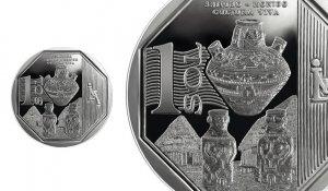 В Перу выпущена в обращение новая монета, посвященная керамическому искусству индейцев шипибо-конибо