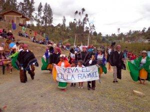 Праздник Килья Райми в кантоне Делег (Эквадор). Архивное фото 2012 г. - gadmunicipaldeleg.gob.ec