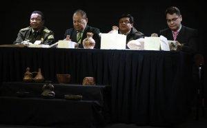 Боливийская полиция предотвратила вывоз из страны древних артефактов