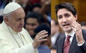 Канадский премьер-министр хочет попросить понтифика Франциска извиниться перед коренными народами Канады