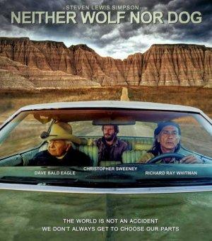 """Постер к фильму """"Уже не волк, еще не пес"""", в котором снимался недавно ушедший из жизни актер и вождь Дэвид Красивый Белоголовый Орлан"""