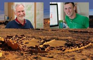 Антропологи из Университета штата Вашингтон (Тим Колер слева и Кайл Бочински справа) связали самодеградацию и последующее исчезновение цивилизации пуэбло