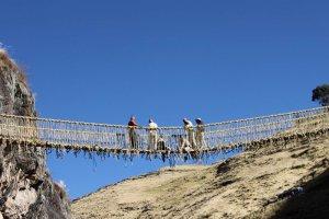 Перуанский подвесной мост Кесвачака включен в список Всемирного наследия ЮНЕСКО