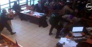 Мапуче устроили беспорядки на судебном заседании по делу главы общины Темукуикуи