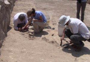 25 хорошо сохранившихся кипу найдены в археологическом комплексе в Перу. Фото - кадр видео