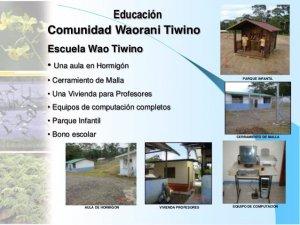 Ваорани сообщества Тивино озадачены появлением неконтактных тароменане