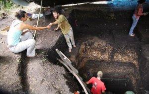 Раскопки неподалёку от реки Гуапоре. Фото: University of Exeter