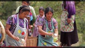 Кадр из ролика о традиционном празднике в автономной общине Сан-Исидро-де-ла-Либертад. О.Мясоедов, Е.Корыхалова