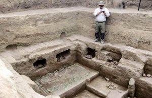 В Сан-Хосе де Моро (Перу) найдены останки жриц и детей культуры Мочика