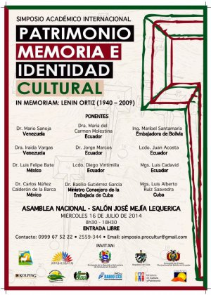 Симпозиум по наследию и культурной идентичности прошел в Эквадоре