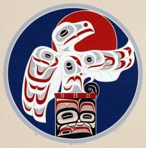 В Самаре 10 июля откроется выставка «Сны осьминога. Современная графика коренных народов Америки»