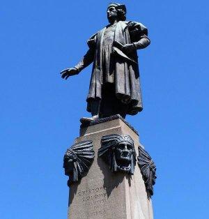 Памятник Х.Колумбу в г.Сиракьюс, США. Фото - Samuel D. Gruber / mycentralnewyork.blogspot.ru