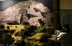 В Мехико открывается выставка с артефактами из Теотиуакана. Фото - Melitón Tapia / INAH
