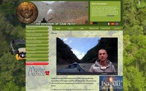 На поиски легендарного Пайтити отправляется французский писатель и путешественник Тьерри Жамен. Иллюстрация - скриншот сайта путешественника www.granpaititi.com