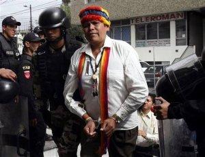 Индейский лидер Эквадора Пепе Луис Акачо привлечен к уголовной ответственности за организацию социального протеста