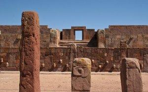 Боливийские археологи совместно с ЮНЕСКО провели аэрофотосъёмку древнего городища Тиуанако