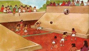 Тлачтли (Пок-та-Пок) - месоамериканская игра в мяч