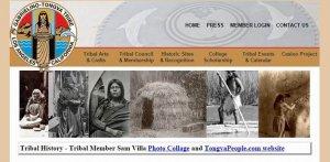 Возрождается индейский язык тонгва (габриэлино). Скриншот - gabrielinotribe.org