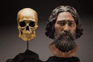Реконструкция облика кенневикского человека. Национальный музей естественной истории в Вашингтоне (Smithsonian Institute/ Brittney Tatchell)