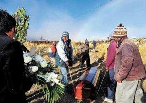 Похороны старейшего человека на земле – 123-летнего индейца аймара Кармело Флорес Лаура