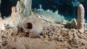 Найденным в 2012 году в пещере на Юкатане останкам молодого человека свыше 13 тысяч лет. Фото: Tom Poole/Liquid Junge Lab