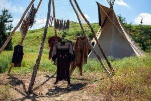 Об этно-лагере в индейском стиле сообщается в репортаже из Ростовской области. Фото: Мария Ольховая / vk.com/ol_mary