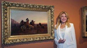 Экспозиция баронессы Кармен Тиссен «Иллюзии Далекого Запада» переехала в Сан-Фелиу-де-Гишольс