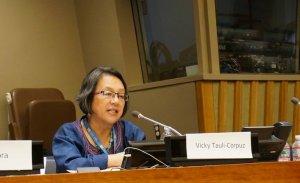 Специальный докладчик ООН по вопросу о правах коренных народов Виктория Таули-Корпус