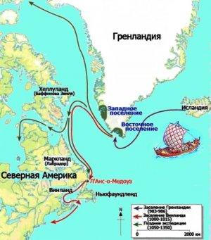 Исследование: в появлении и исчезновении викингов в Северной Америке климатические факторы не замешаны