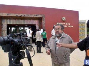 Археолог Вальтер Альва, директор музея Царские гробницы Сипана (Tumbas Reales de Sipán). Фото - Mónica Sanguinez Prada / rpp.com.pe