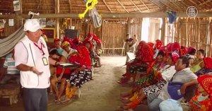 Панамских индейцев обучают защите от вируса Зика (видео)