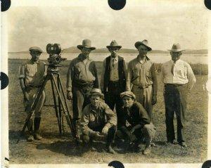 Съемки фильма команчей и кайова 1920 года «Дочь Рассвета»