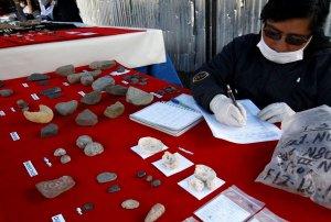 Захоронение культуры Маркавалье найдено в Куско (Перу). Фото - Percy Hurtado Santillán / Andina / andina.com.pe