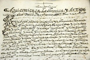 В Мексику вернулся «Кодекс Чимальпаин». Фото - INAH