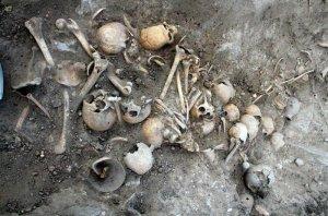 Останки 60 человек. Археологический комплекс Уари. Фото Correo / diariocorreo.pe